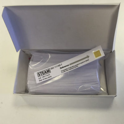 Sterilisation Indicator Strips from Microspec