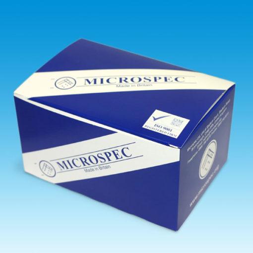 Microspec product box