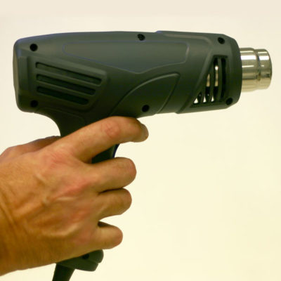 Wrappastack heat gun from Microspec