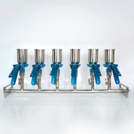 Filter manifold 6 place from Microspec